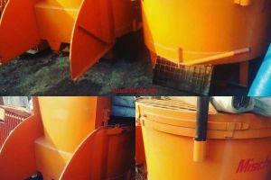 میکسر بتن سطلی روباز کارکرده در تهران